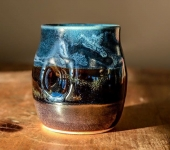 Seascape wine cup